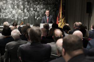95. Gründungsjubiläum: Bundestagsvizepräsident Thomas Oppermann (SPD) spricht (Foto: Wolfgang Borrs)
